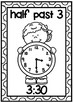 Clock Display Posters- Half Past Times