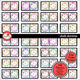 Clock Dominos - Games Clipart Set by Poppydreamz (Color only)