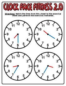 Clock Face Fitness 2.0