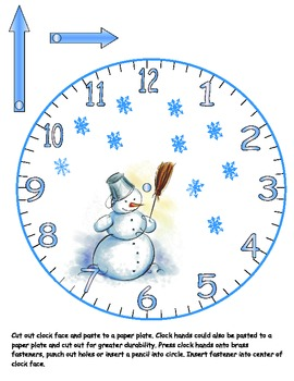 Clock Face For The Seasons