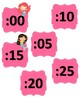Clock Face Labels Sharks & Mermaids
