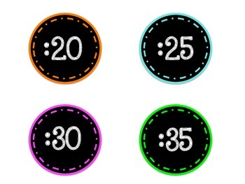 Clock Face Numbers