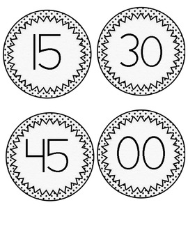 Clock Faces - Traditional