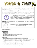 Clock Facts: Multiplication 5 facts