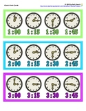 Clock Flash Cards (Grouped by Hour)