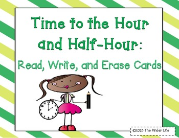 Time Flashcards {Dry-Erase}
