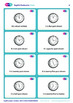 Clock Flashcards in English