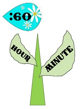 Clock - Flower
