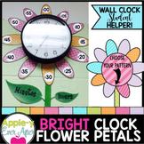 Clock Labels - Flower Time Petals Decor