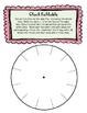 Clock Foldable {FREEBIE}
