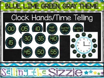 Clock Hands/Time Telling FREEBIE