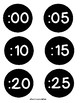 Clock Label Freebie