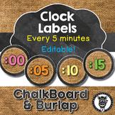 Clock Label helpers