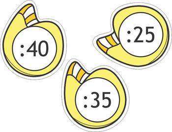 Clock Labels
