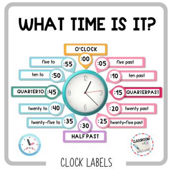 Clock Labels FREE