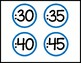 Clock Labels (Bold, Simple, + Clear Numbers)