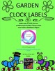 Clock Labels- Garden Theme