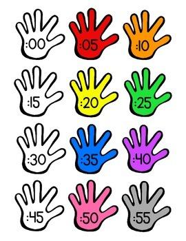 Clock Labels (Hands)