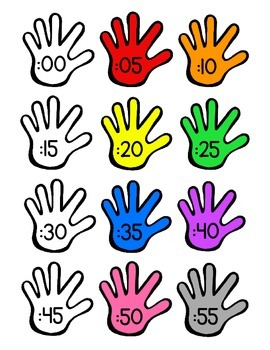 Clock Labels (Hands)