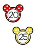 Clock Labels - Mickey Mouse