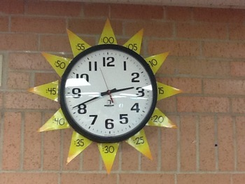 Clock Labels Numbers for Sun FREE