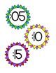 Clock Labels - Rainbow