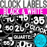Clock Labels: Telling Time