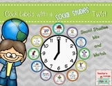 Clock Labels with a Social Studies Twist