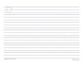 Clock Letters Basic MrsQ Clock paper