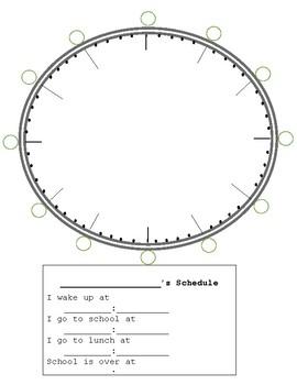 Clock - Make a Clock - Math Station