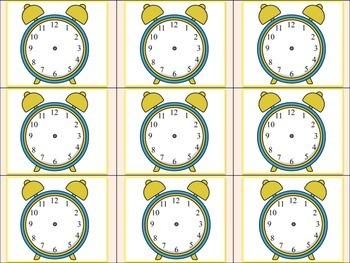 Clock Memory (Hour and Half Hour)