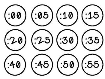 Clock Minute Conversions