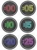 Clock {Minute Hand Labels}
