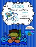 Clock Minute Labels Sample