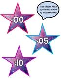 Clock Minute Markers - Star Shape