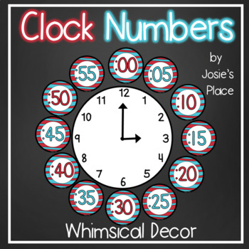 Clock Numbers Dr. 'S' Inspired