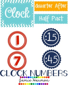 Clock Numbers & Labels