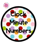 Clock Numbers - Minutes and Time Words (quarter past, half past, quarter to)
