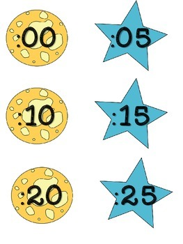 Clock Numbers for you Analog Clock Space Theme