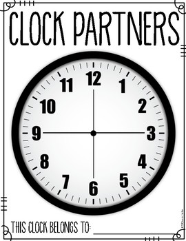Clock Partners A Management Tool for Pair Sharing and Collaboration