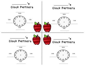 Clock Partners Template