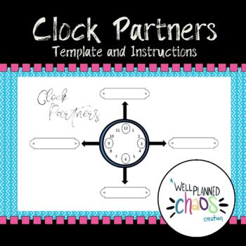 Clock Partners Template and Instructions