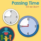Clock - Passing Time Clipart