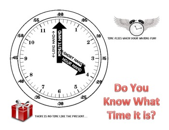 Clock Poster and Activity