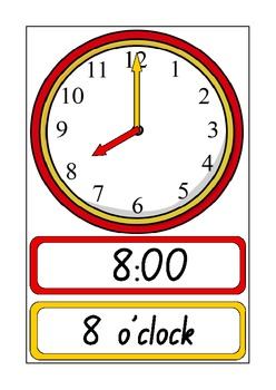 Clock Posters showing O'Clock