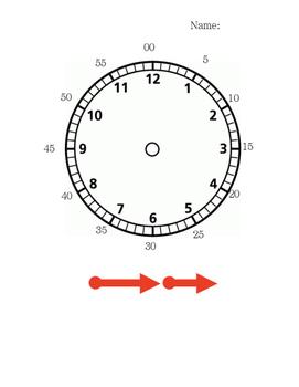 Clock Practice Work Sheet