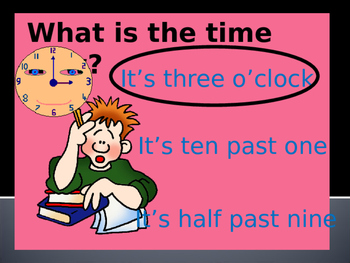 Clock Reading with sounds