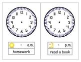 Clock Schedule