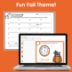Clock Scoot/Task Cards Time to the Nearest 5 Minutes- Fall Themed