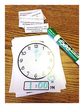 Clock Sentence